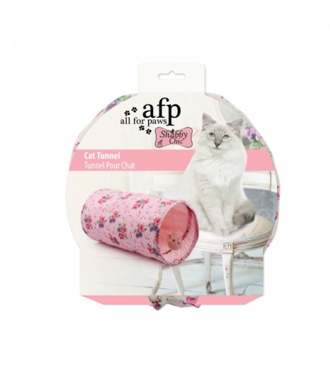 Summertime Tunnel Play Toy For Cats